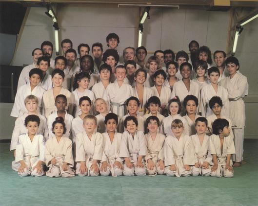 Groupe judo adulte 1989